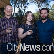 Ed Handby, Melanie Poole and Scott Goodwin