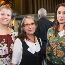Francesca Gould, Julie Skate and Melissa Delfino
