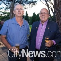 Glen Watt and Dennis Hayes