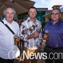 John Twohill, Brett Amey and Des Moore