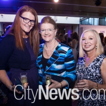 Katie Toleafoa, Barb Campbell and Catherine Chapman