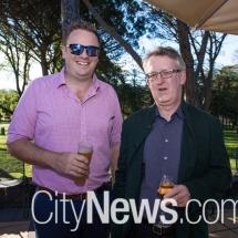 Tim Huskisson and Mark Tigwell