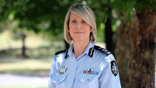 ACT police chief suddenly resigns
