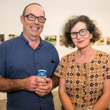 Brenton McGeachie and Ruth Waller