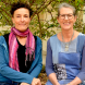 Edwina Robinson, left, and Anna Perkins…