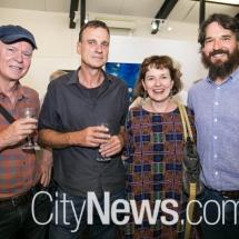 Michael Desmond, Bruce Howlett, Christine Clark and Al Paradise