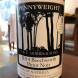 The Pennyweight 2014 Beechworth Pinot Noir, with its lingering red fruit finish.