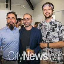 Robert Guth, Joseph Falsone and Chris Endrey