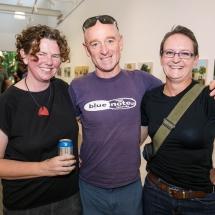 Ursula Frederick, Matt Thomas and Megan Poore