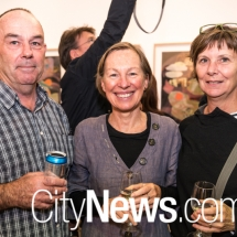 Brenton McGeachie, Carol Cains and Suzanne Knight