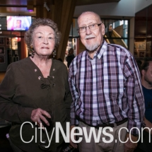 Denise Seddon and Jack Sandry