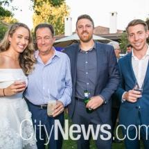 Elizabeth Mason, James Service, Ben Greet and Nicholas Otevrel