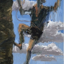 Euan Macleod, 'First Fall' 2018. Station 3. Jesus Falls the First time.
