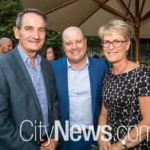 Francis Sullivan, Dean Easterby and Susan Sullivan