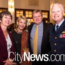 Gitte Binskin, Claudia and Tom Norring and Mark Binskin
