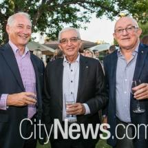 Ian Carmody, Eric Koundouris and John Mackay