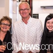 Ingrid Spedding, Paul Webb and Meagan Spedding