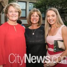 Joan Harmer, Maria Hawke and Nicola Powell