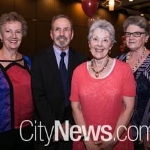 Joanne Mitchell, Robert James, Dawn Shield and Judy James