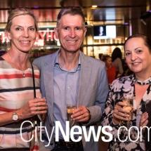 Kaye Vebel, Adam Brown and Catherine Healey