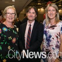 L'Arche Board Chair Julia Walters, L'Arche National Leader David Treanor and L'Arche Board Secretary Catryn Tuckwell