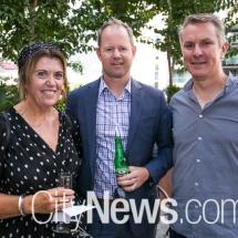 Libby Oakes-Ash, Aaron Glaskin and Ian Smith