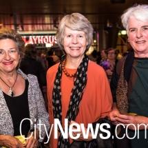 Meredith Nichol, Jane Thompson and Val Carmody
