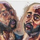 Myuran Sukumaran, Untitled (Double Self-Portrait Embracing), 2015. Oil on Canvas. Photo by Brenton McGeachie