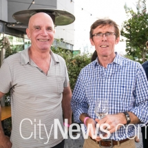 Paul Millwood and Shane O'Brien