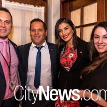Peter Kapsanis, Peter Giorgiou, Eleni Petinos and Nyomi Bourbous