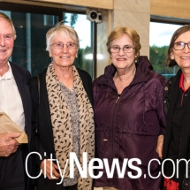 Peter and Menna Haddon, Sue Edwards and Mandy Scott