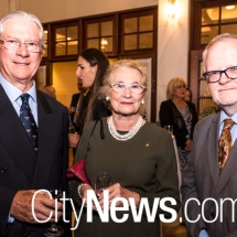 Rick and Carolyn Forster with Breandán Ó Caollaí