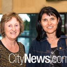Robyn Cadwaller and Karen Viggers