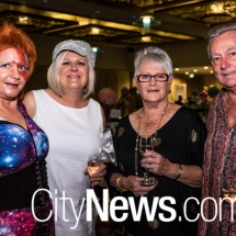 Sandra Fisk, Wendy Shepherd, Denise and Dennis Sargent