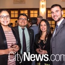 Sofia Osorio, David Cruz, Dunia Martin and Victor Gonzalez