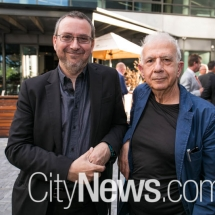Steve Passon and Gevork Hartolnian