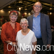 Therese Knight, Elizabeth Archer and Peter Burnett