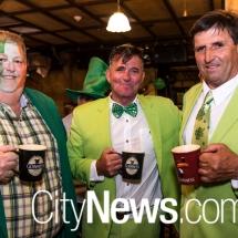 Tim McGlynn, Ricky Moore and Mick McGherkin