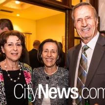 Vanessa, Dimitra and Bill Nikias