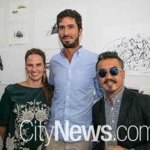 Victoria Cotton, Cristian Rojas and Dtai Hansathit