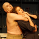 """Michael Sparks and Jenna Roberts in """"Dr Frankenstein"""". Photo by Helen Drum."""