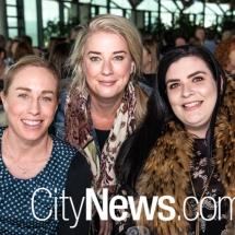 Megan Baller, Therese Goodman and Alison Slocum