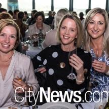 Sarah McBain, Taryn Simpson and Heidi McLean