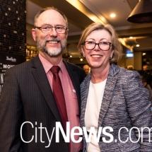Kathleen O'Sullivan and Bill Lawrence