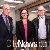 Bob Nattey, Victoria McGlade and Richard Kent