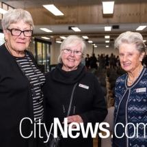 Elizabeth McKay, Sanchia Glaskin and Margaret Cornwell