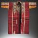 "Meshla, overcoat, tapestry-woven wool, silk and meta thread brocading, Syria 19th century, Vatican ""Anima Mundi"" Museum."