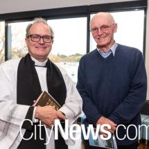 Rev. Dr. David Willsher and Peter Joyce