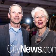 Chris Millman and Genevieve Jacobs