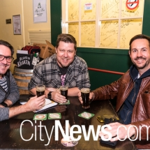 Craig Greening, Rod Lamberts and Will Grant
